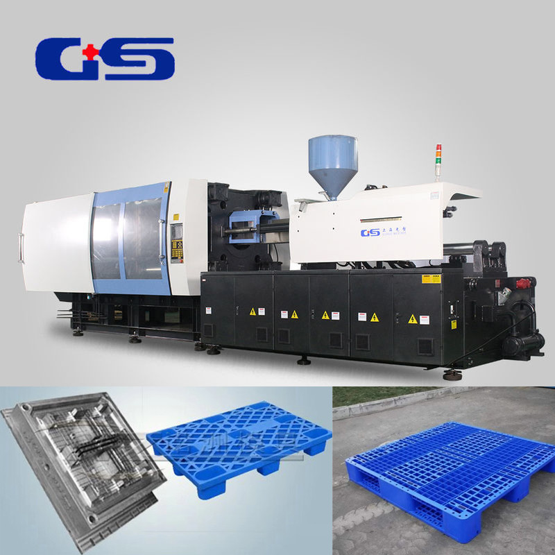 1280kN Large Injection Molding Machine For Plastic Pallet Making And Manufacturing
